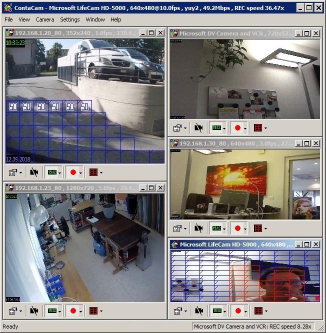 Full ContaCam screenshot